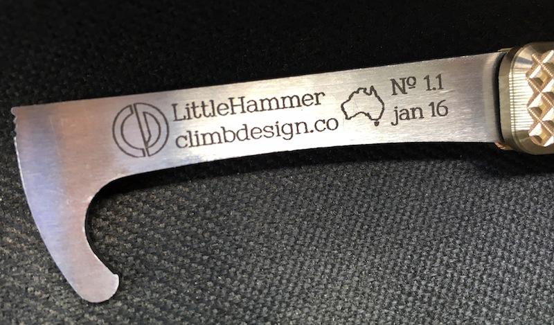 LittleHammer1.1 etched