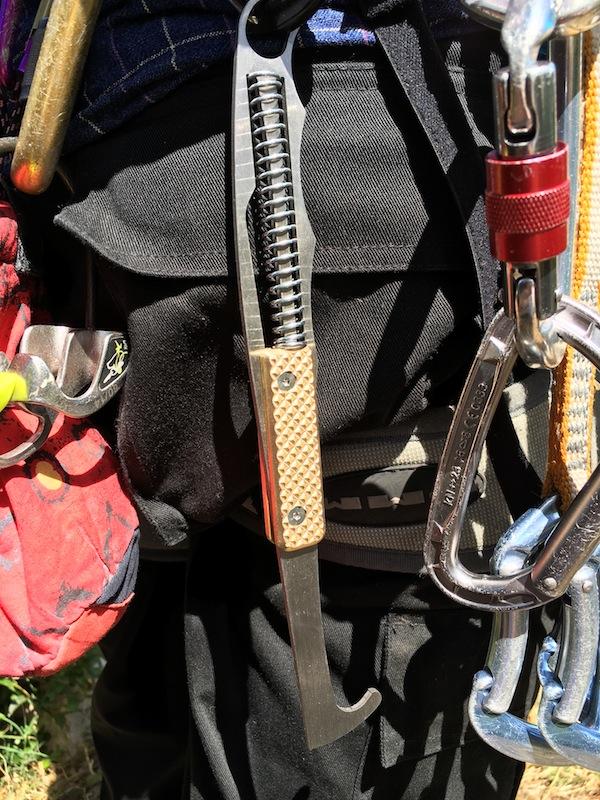 Littlehammer on rack